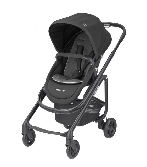 Lila SP Stroller - Essential Black