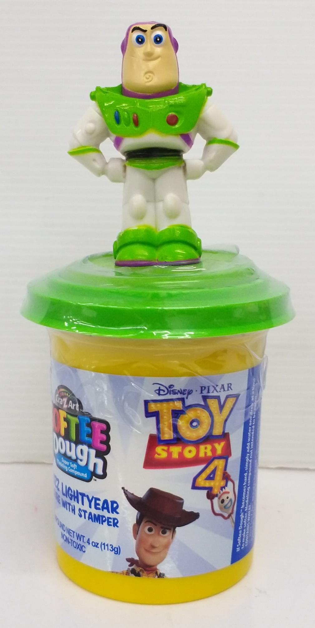 Disney Toy Story 4 Softee Dough Figure Stamper Buz