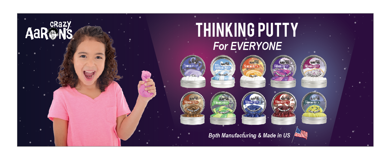 Phantoms Thinking Putty Mystic Glacier Made in USA