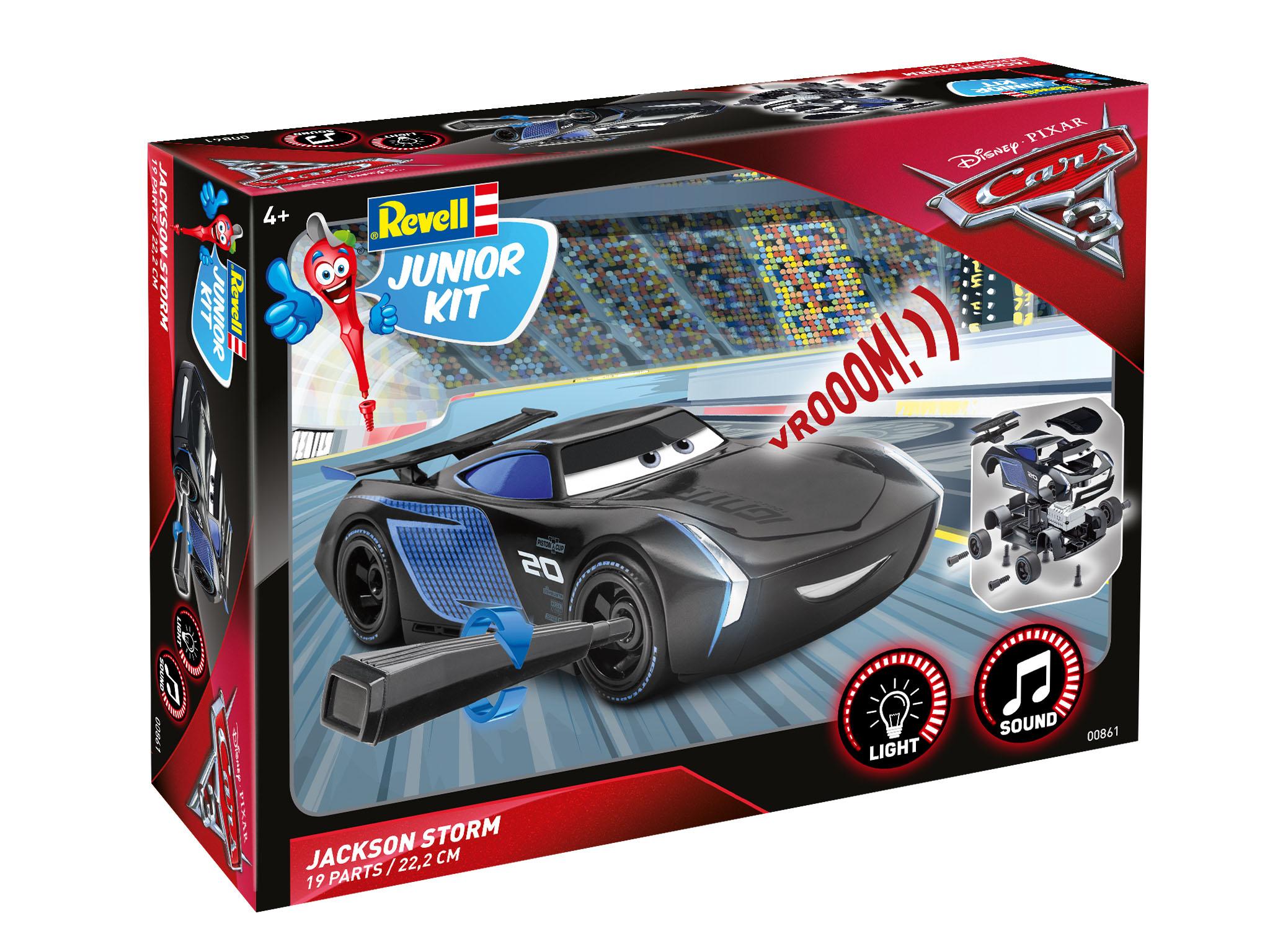 Junior Kit Disney PIXAR Cars Jackson Storm