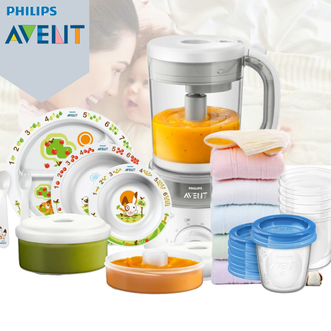 Philips Avent 4-in-1 Healthy Baby Food Processor B