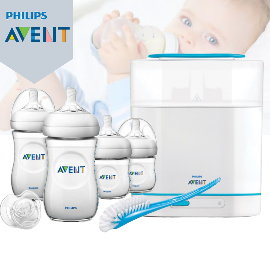 Philips Avent 3-in-1 Electric Steam Sterilizer + N