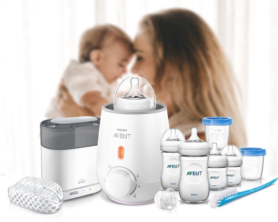 Philips Avent 4-in-1 Electric Sterilizer + Warmer