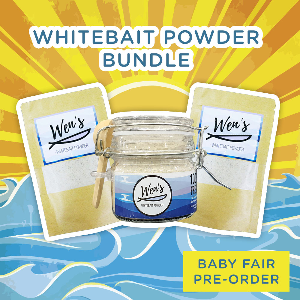 Wen's Whitebait Powder Bundle
