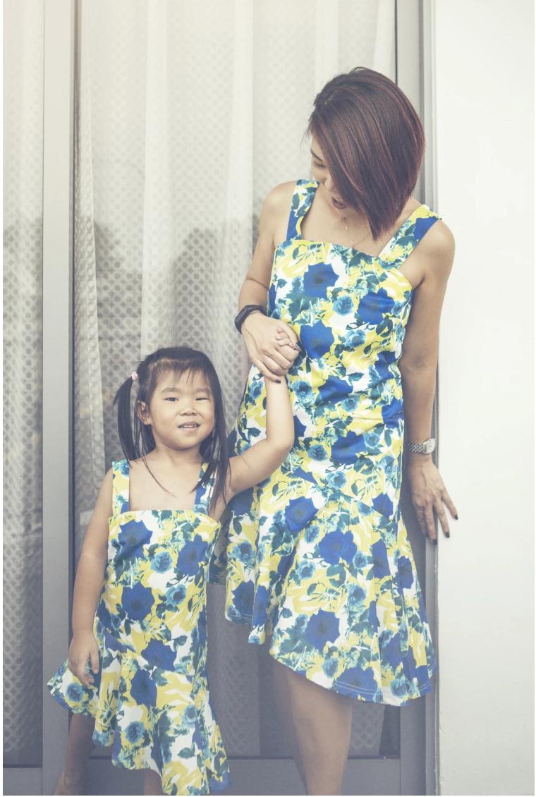 MyPrincessWand Genny and Koey Dress Set - Mummy Ge
