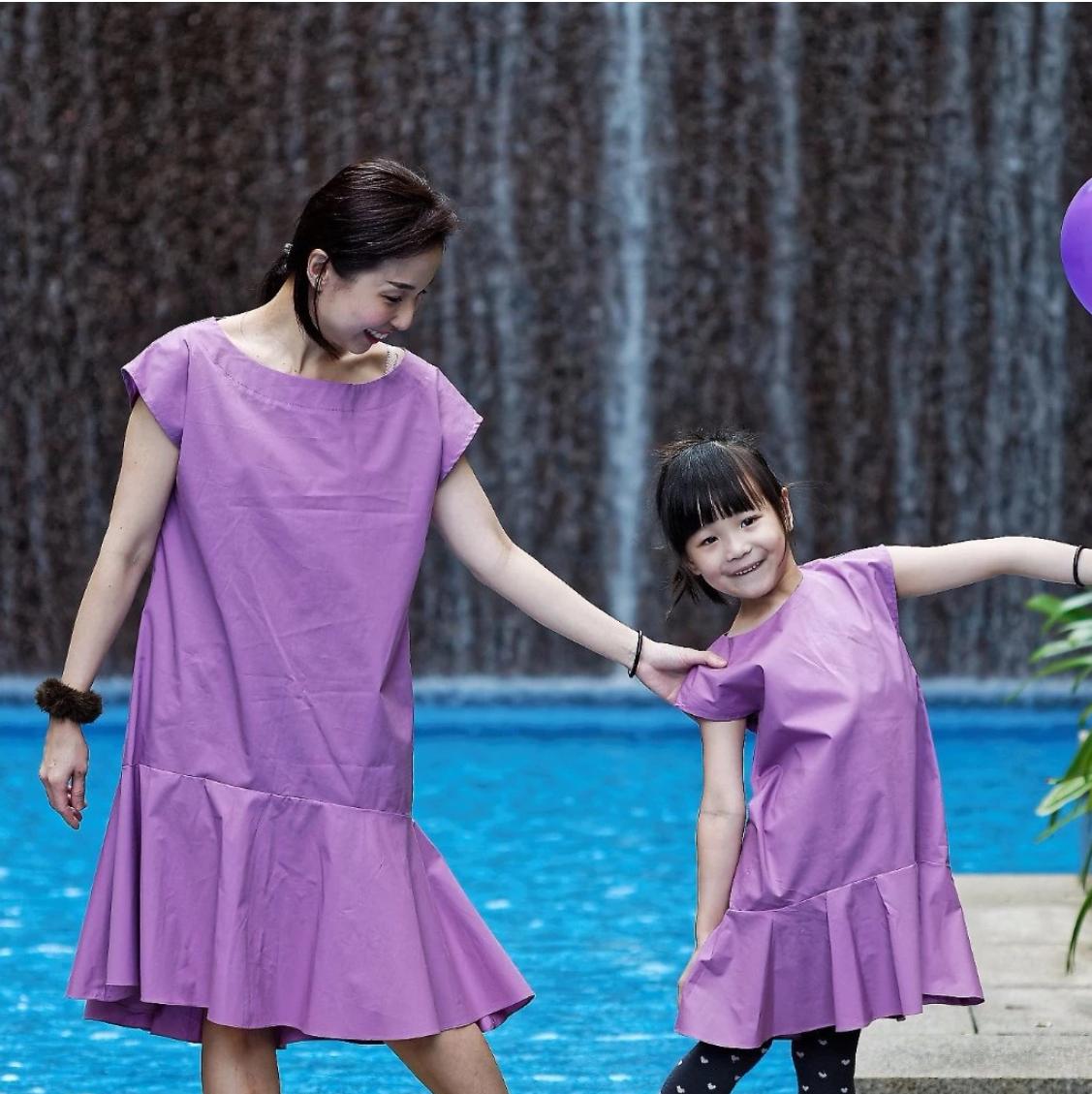 MyPrincessWand Serene and Heather Dress Set - Mumm
