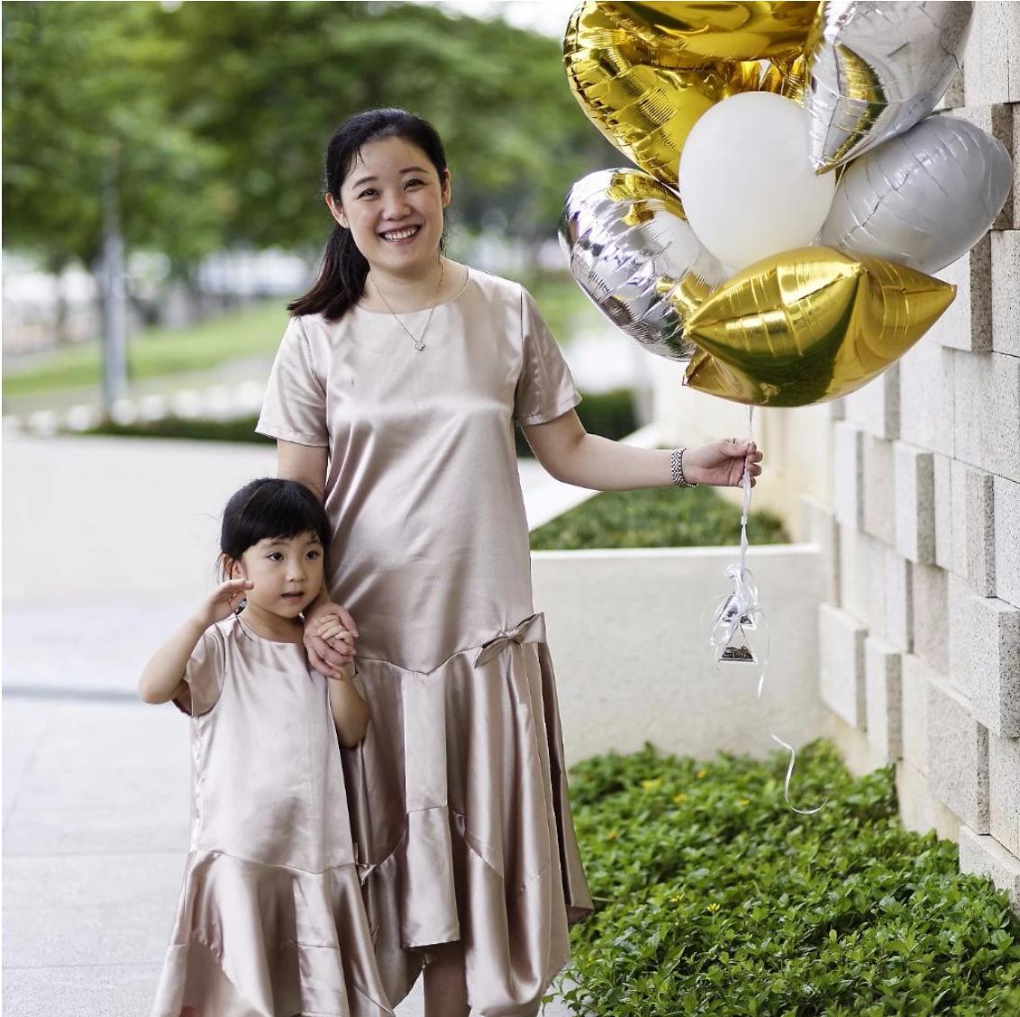 MyPrincessWand Esther and Faith Dress Set - Mummy