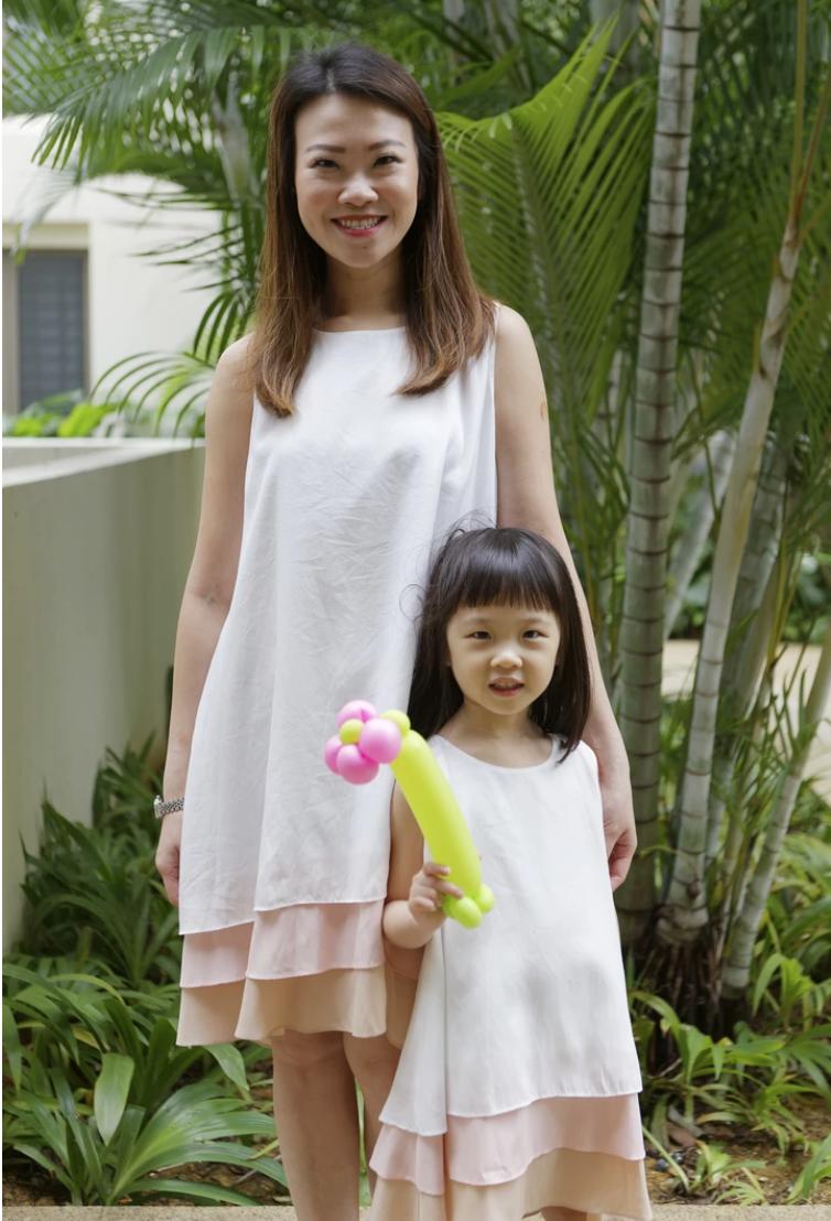 MyPrincessWand Jenn and Arissa Dress Set - Mummy J