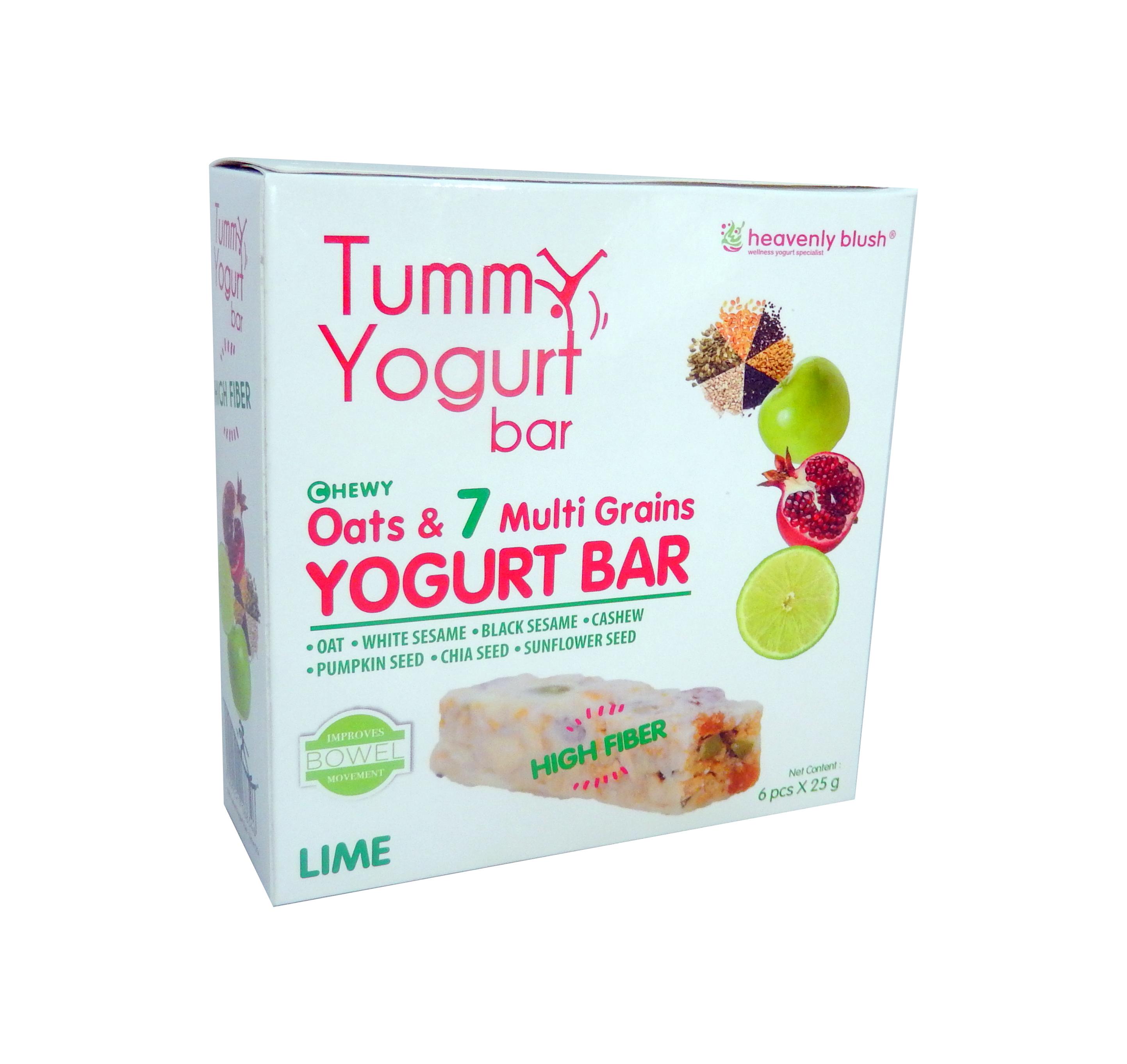 Heavenly Blush Yogurt Bar- Lime