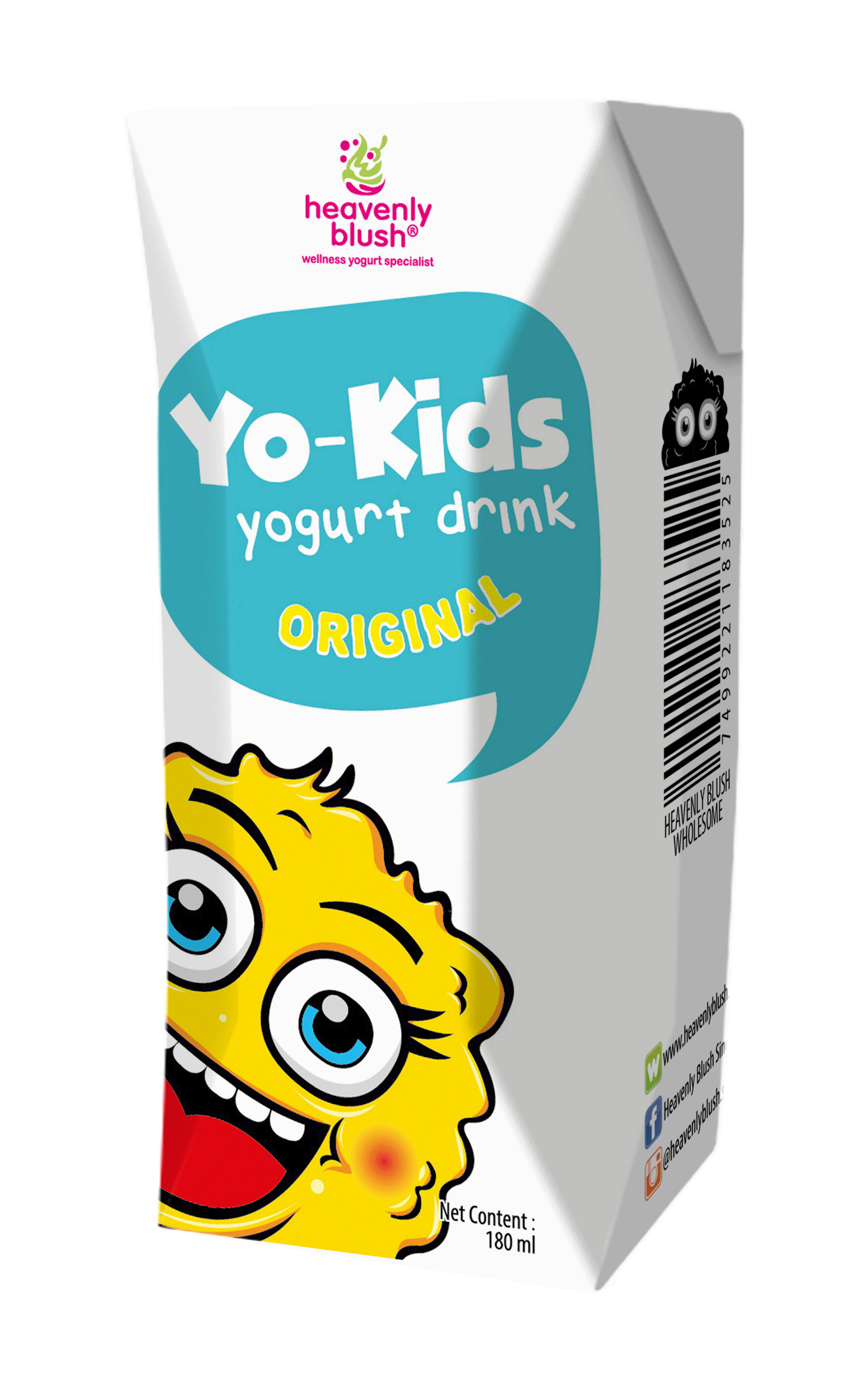 Heavenly Blush Yo Kids Drink- Original