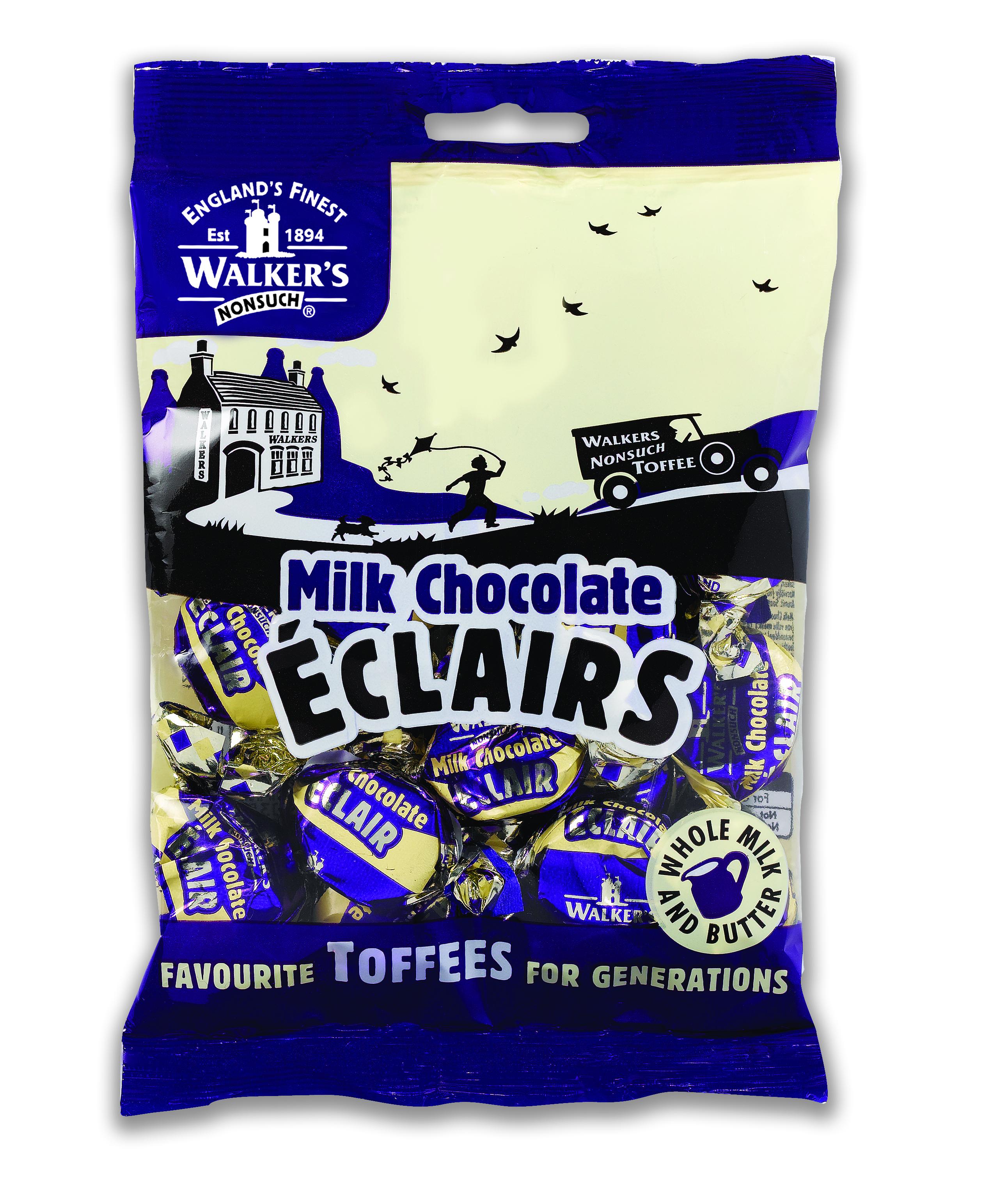 Milk Chocolate Eclairs 150g
