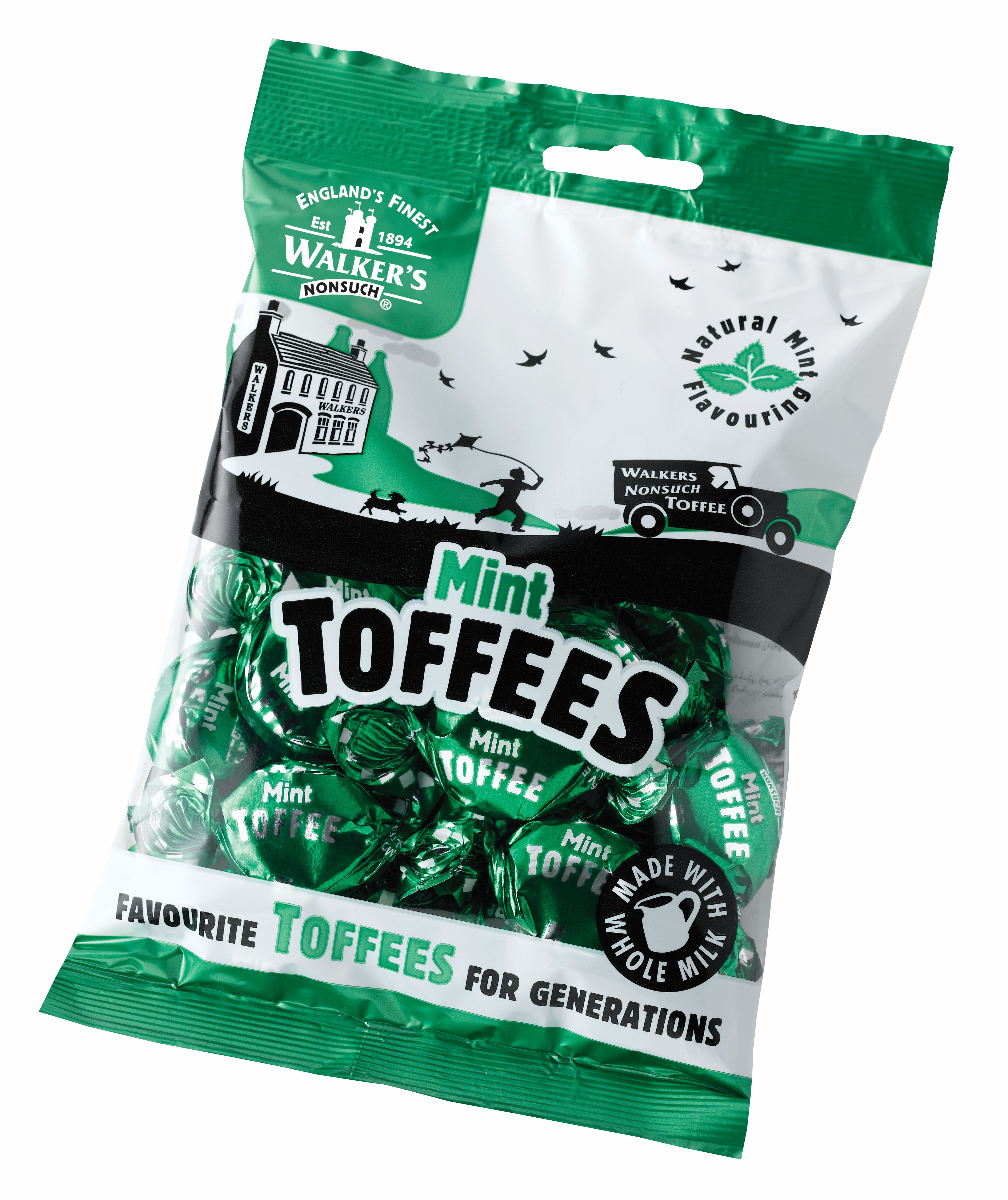 Mint Toffees 150g