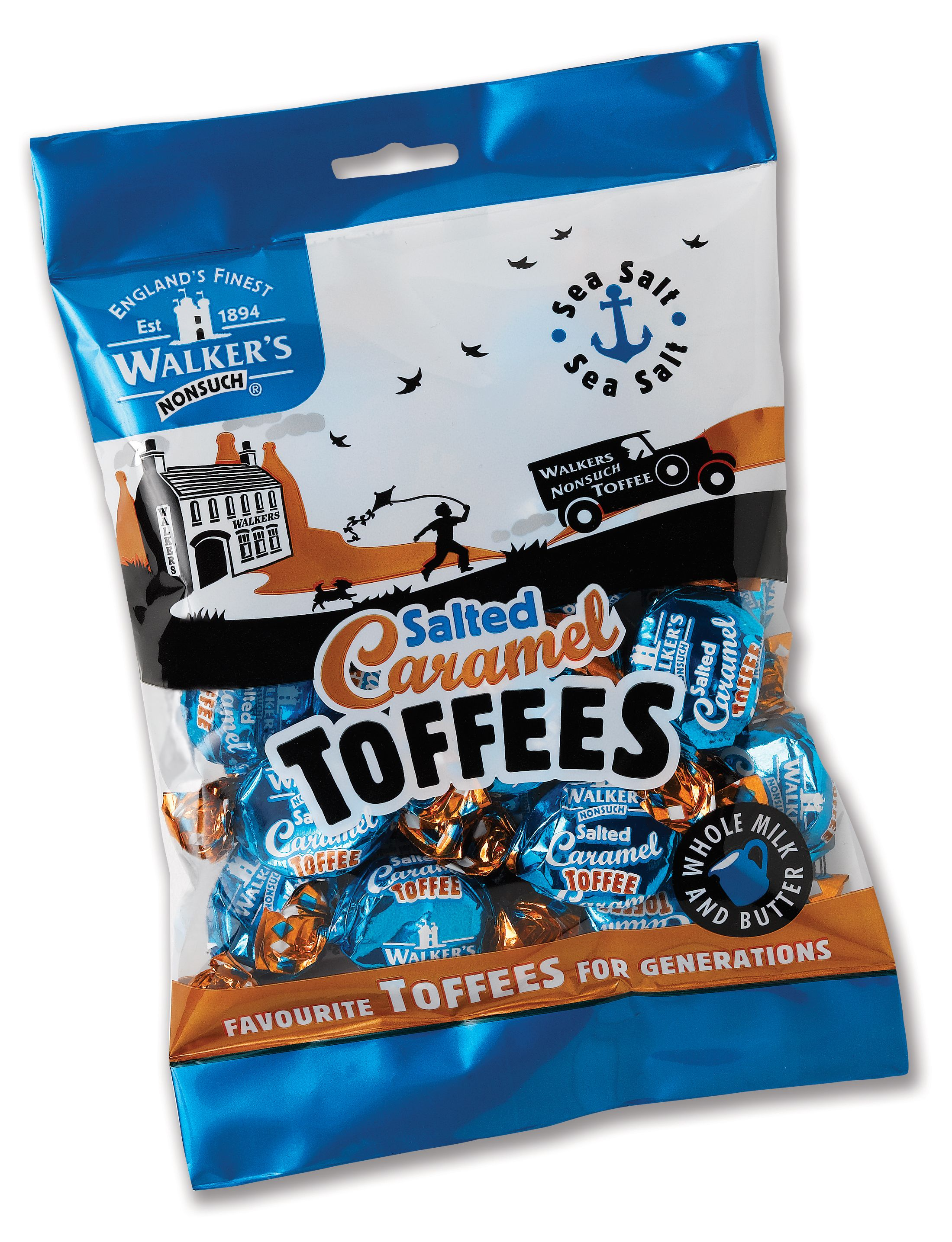 Salted Caramel Toffees 150g