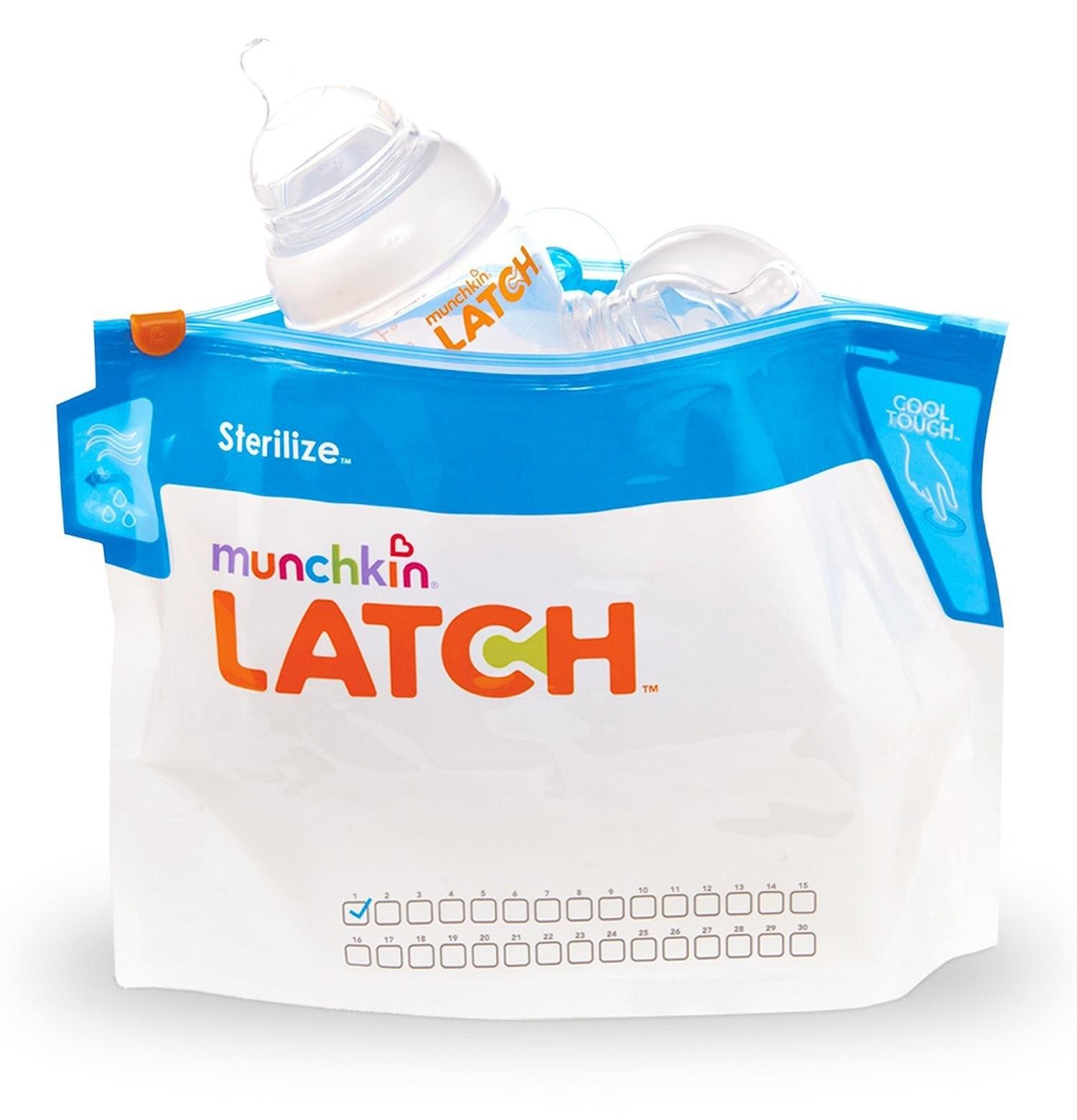 Munchkin LATCH Sterilize Bags - 6pk