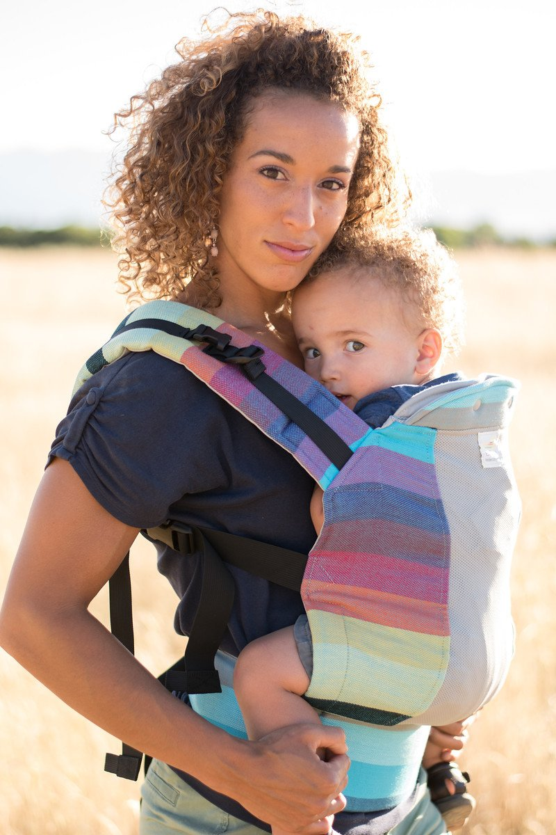Kinderpack Baby Carrier Wrap Conversion Symphuo by