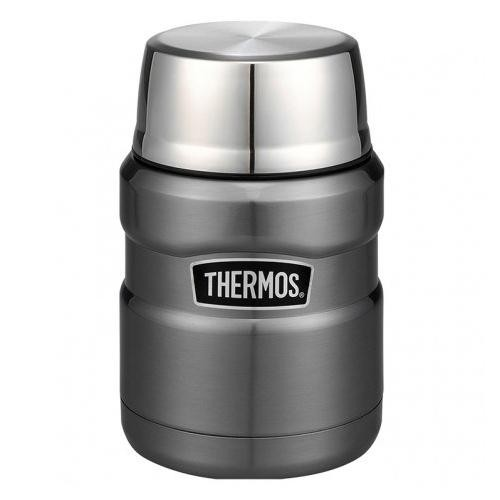 Cool Grey -- Thermos Stainless Steel King Food Jar