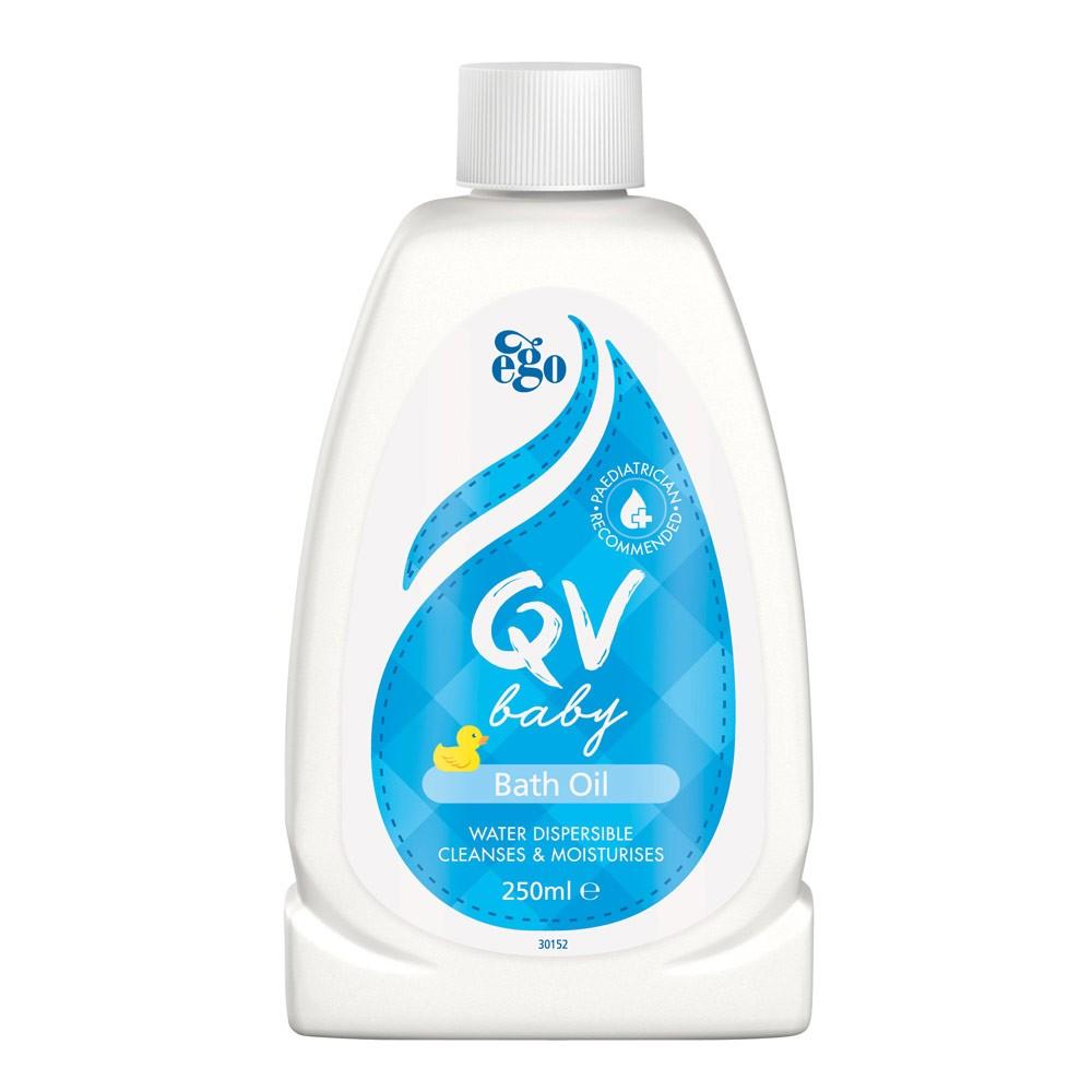 QV BABY BATH OIL 250ML CT RC
