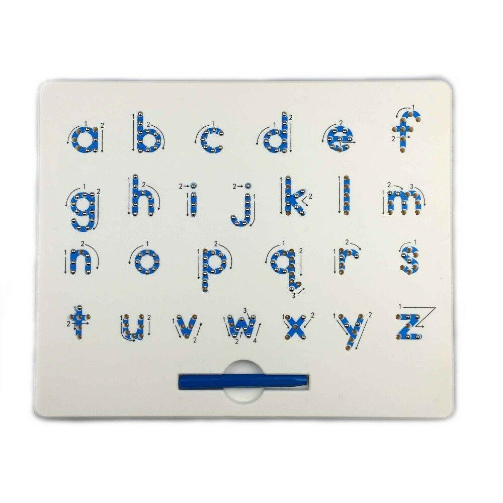 MAGNETIC LOWERCASE ALPHABET LETTERS TABLET/BOARD W