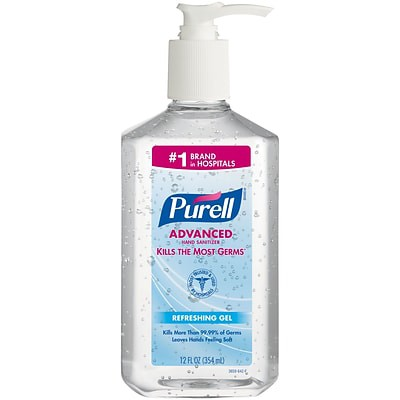 PURELL 12oz Hand Sanitizer x 4