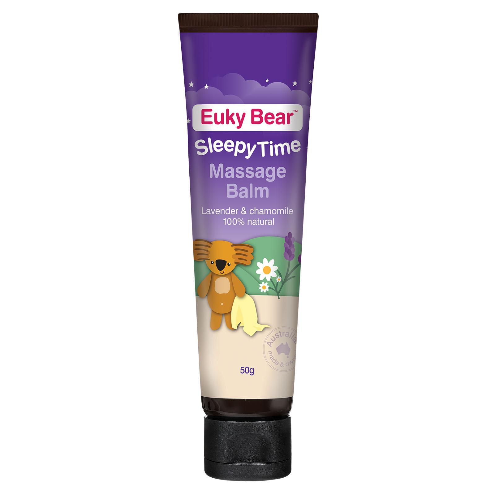 Euky Bear Sleepy Time Massage Balm 50g
