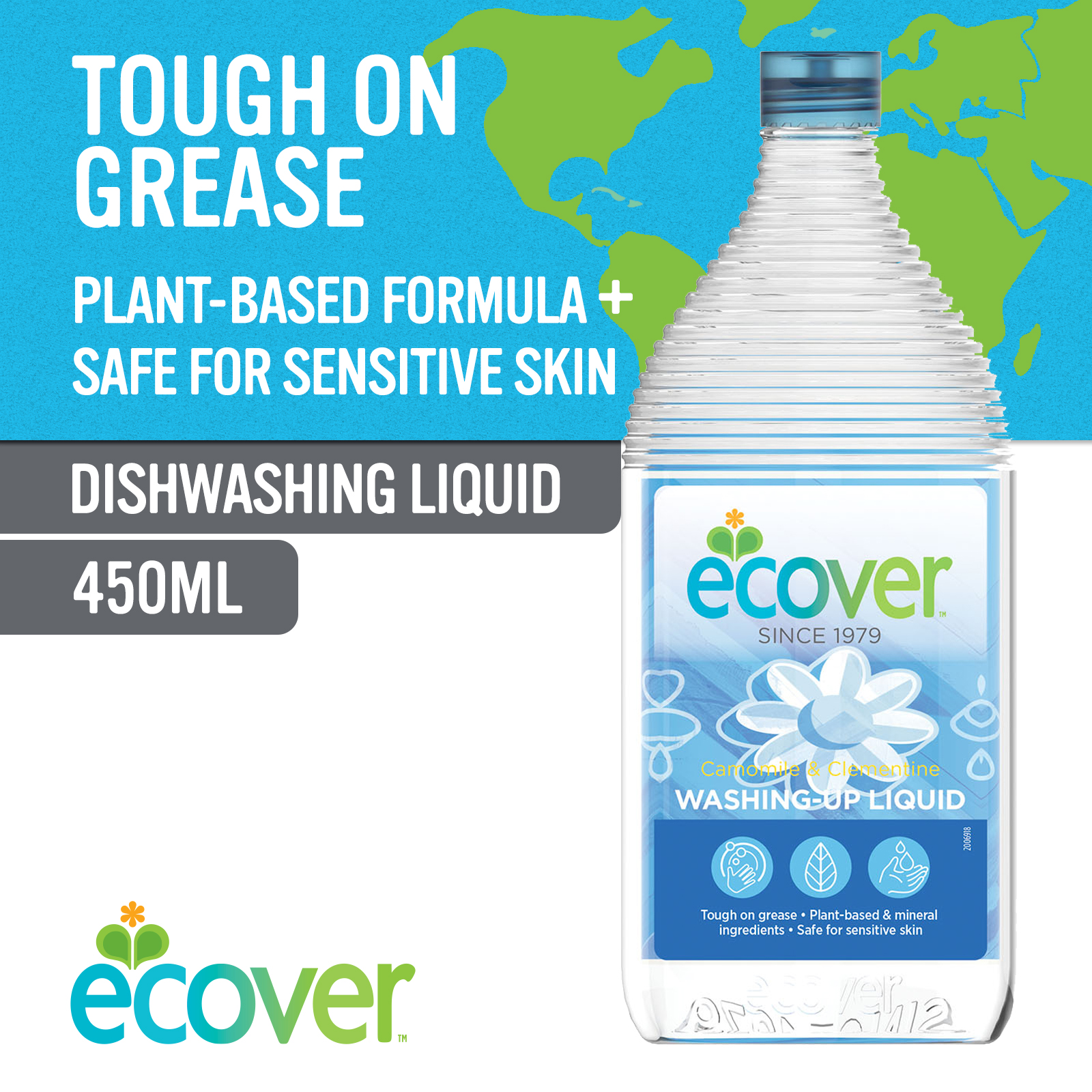 Ecover Washing-Up Liquid - Camomile & Clementine 4