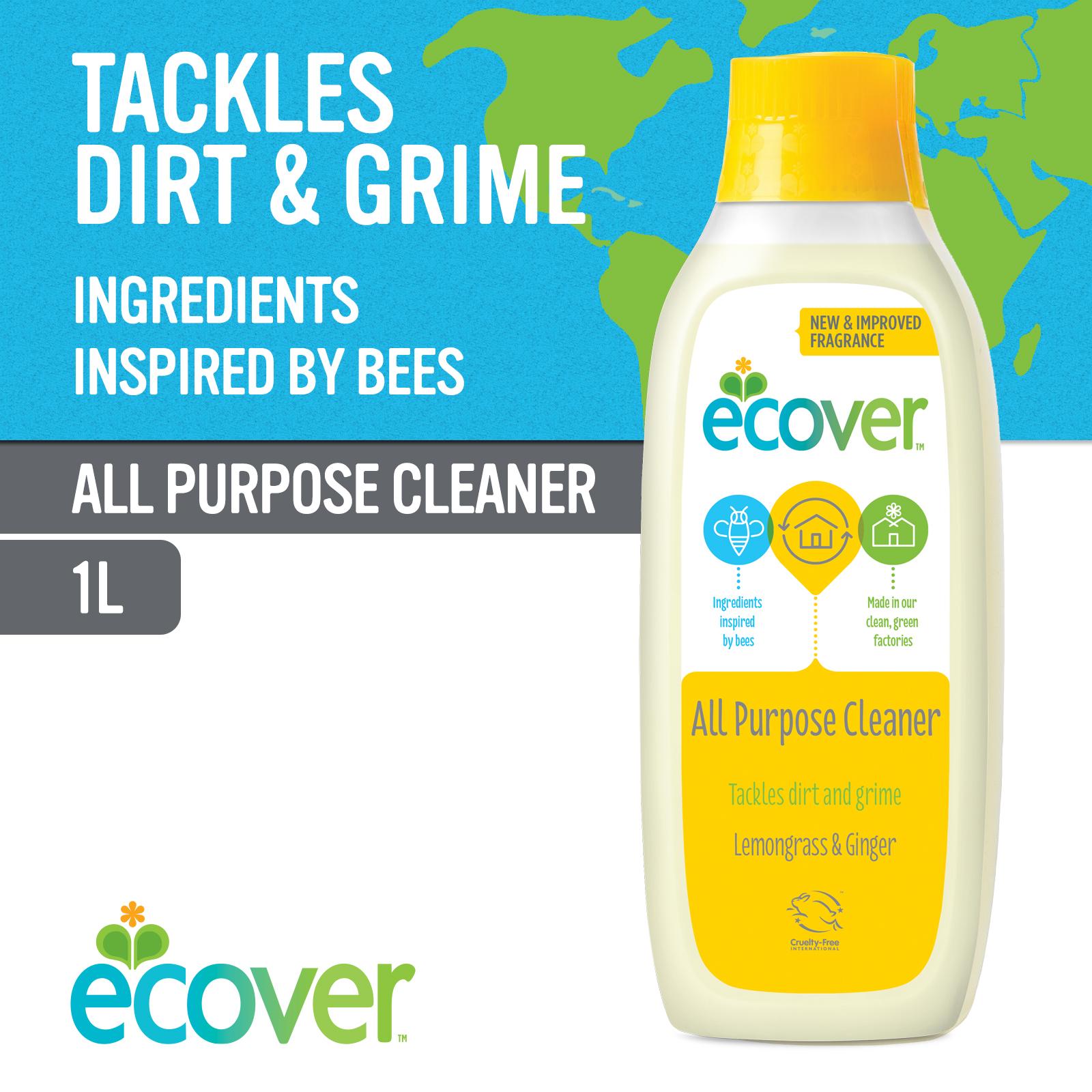 Ecover All Purpose Cleaner - Lemongrass & Ginger 1