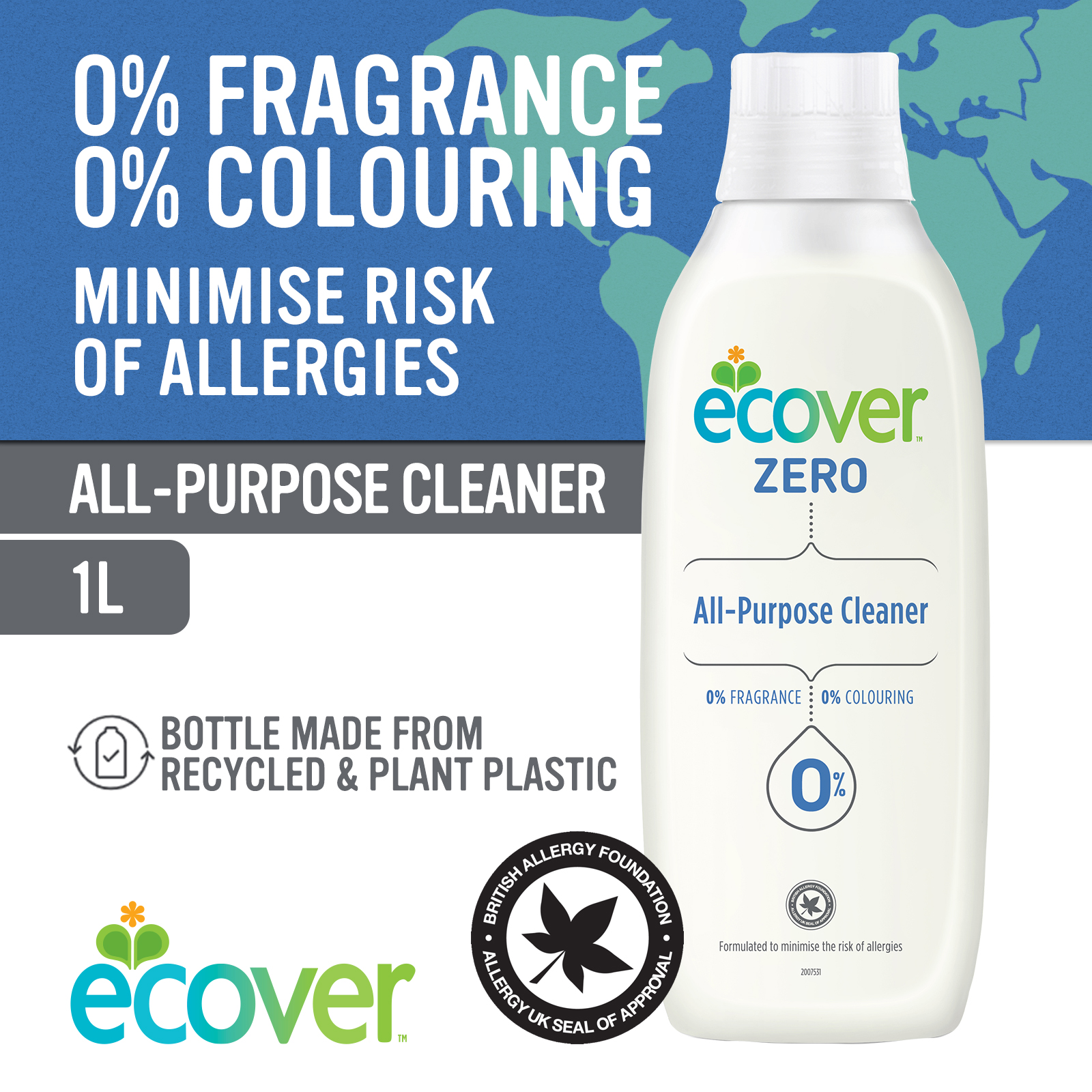 Ecover ZERO All Purpose Cleaner 1L