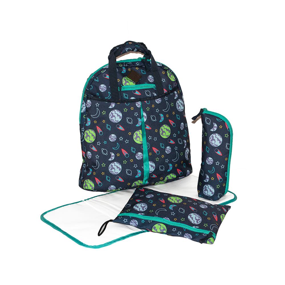 Okiedog Freckles Backpack - Space Navy