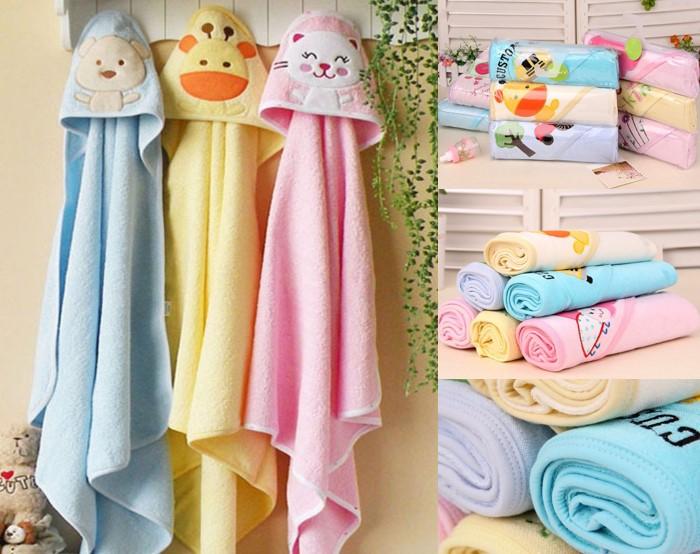 3-pc Hooded Towel -  (Boys & Girls)