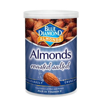 Blue Diamond Roasted Almonds Nut With Salted 130 gm