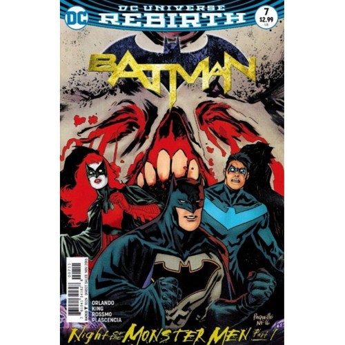 BATMAN #7 Night of the monster men