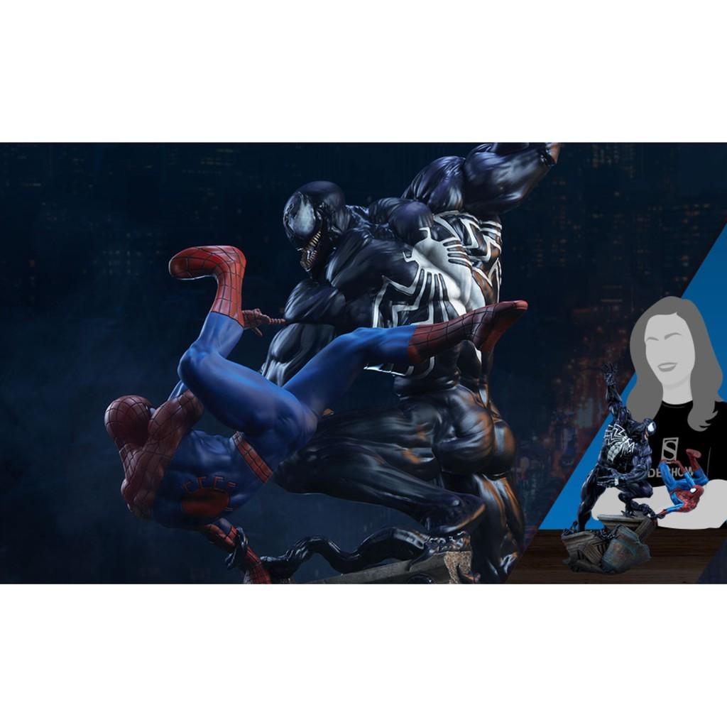 SPIDER-MAN VS VENOM MAQUTTE SIDESHOW PREORDER
