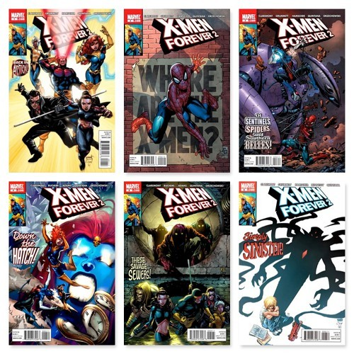 X-MEN FOREVER 2 #1 - #14 (INCOMPLETE SET)