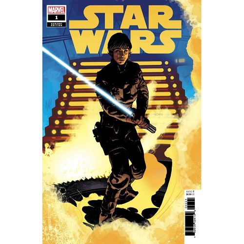 STAR WARS 1 - ADAM HUGHES LUKE SKYWALKER VARIANT
