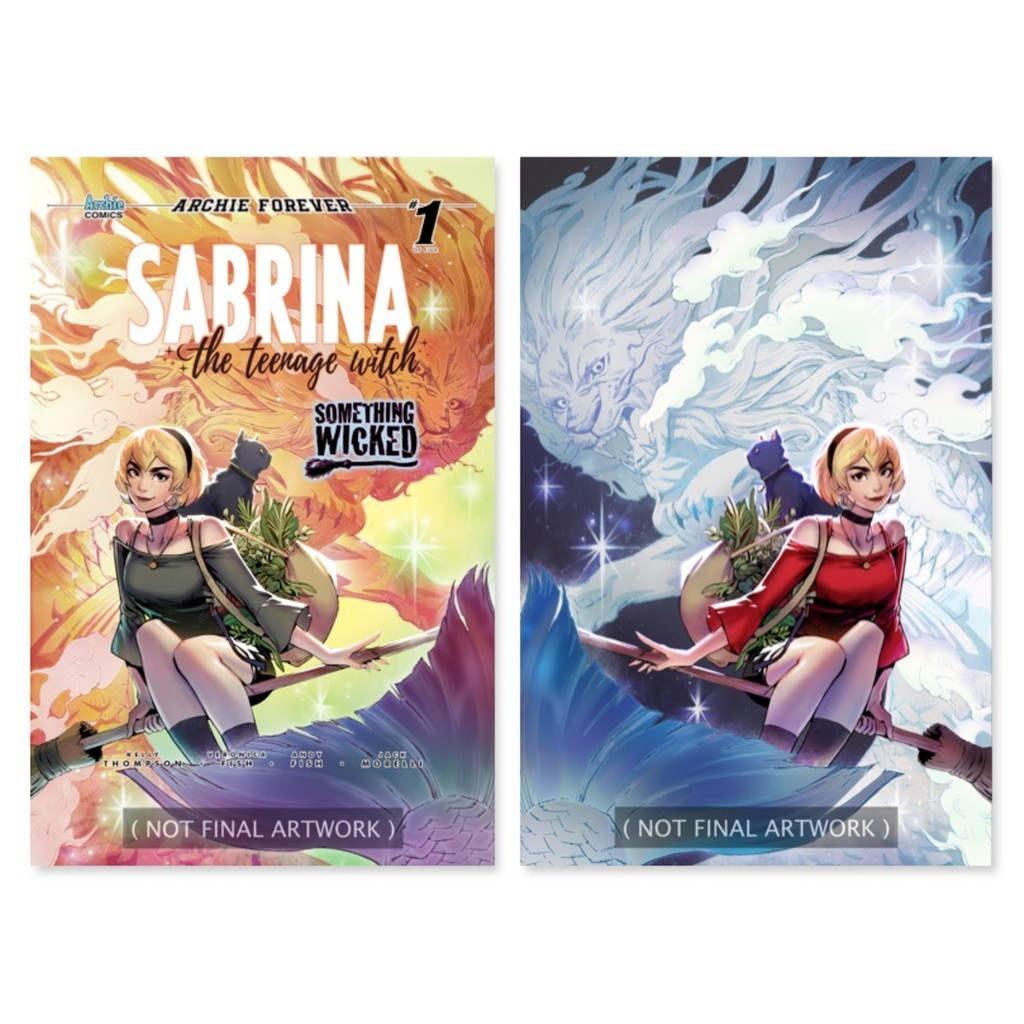 SABRINA SOMETHING WICKED #1 WONDERIFIC EXCLUSIVE TRICIA WEE COVER SET