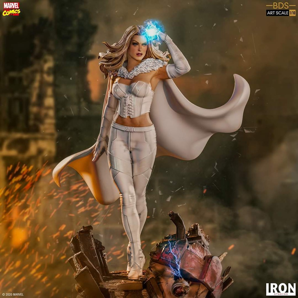 X-MEN EMMA FROST - IRON STUDIOS 110 STATUE PREORDER CLOSE 150720